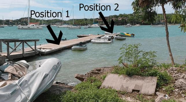 Prickly Bay Dock